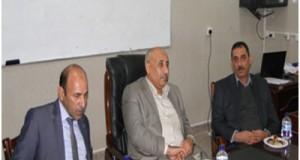 حفل تسليم واستلام عمادة كلية علوم الحاسوب والرياضيات جامعة القادسية