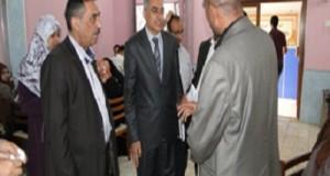 لجنة زيارة النظراء للجامعات العراقية لتقييم الأقسام العلمية المناظرة